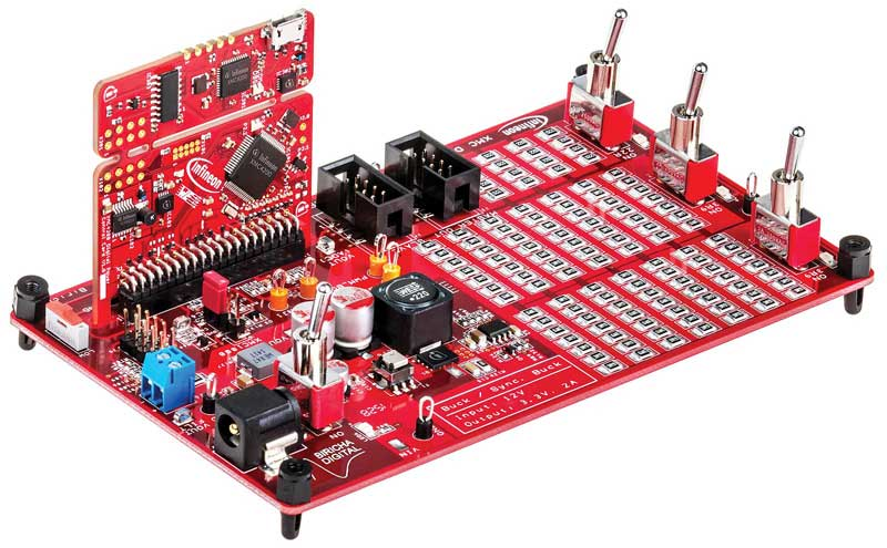WE_EA0116_Dev_Board_Infineon