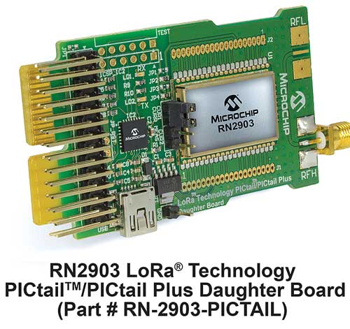 News_EA0316_MC1321---RN2903-LoRa-Technology-PICtail-Daughter-Board